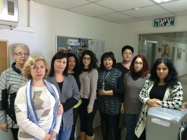 צוות סניף מטב חיפה