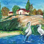 """לוח שנה """"זקנים יוצרים אומנות""""- לשנת 2010-11"""
