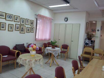 מקומות ישיבה נוחים במרכז היום לקשיש גני תקווה