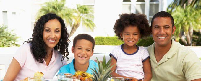 משפחה-זוג הורים וזוג ילדים