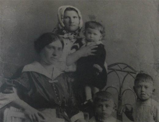 תמונת משפחה בשחור לבן