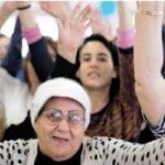 פעילות נשים: קשישות וצעירות יחד