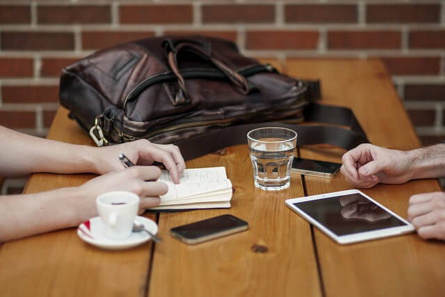 פגישה עסקית